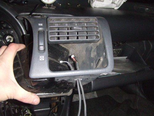 evc cables / air vent