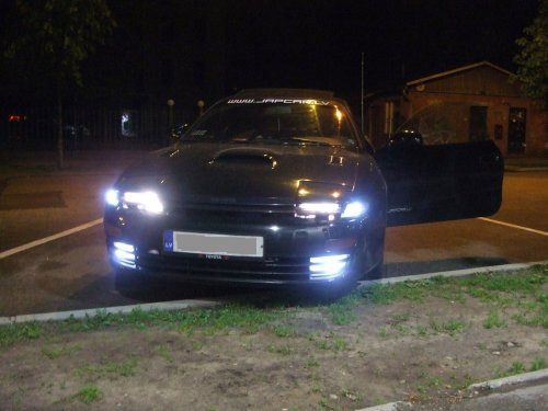 SMD LED lights in fogs and parking bulbs