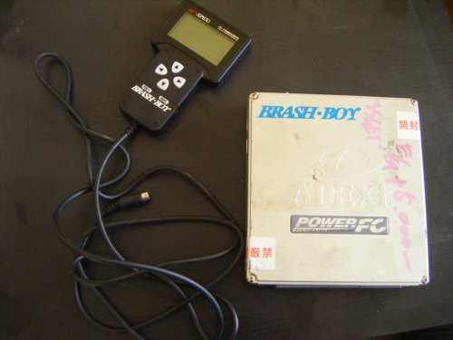 Apexi powerfc + commander for celica st185 converted by brash boy