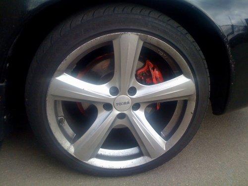Toora T950 R17 wheel