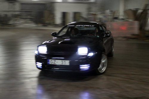 celica st185 drift awd angar warehouse
