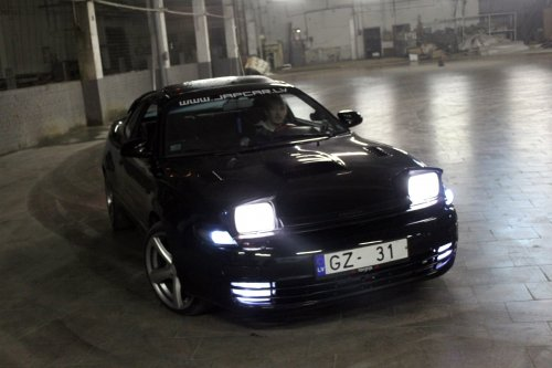 celica st85 alltrac gt4 gtfour at angar warehouse