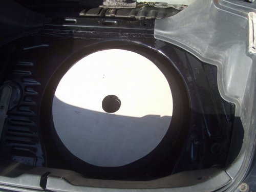 Wooden spare wheel cover