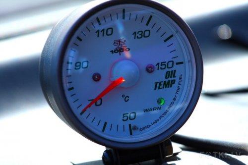 zero 1000 oil temp gauge