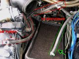 EVC engine bay hoses