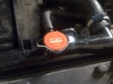 HKS Radiator cap installed