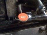 HKS Radiator cap installed